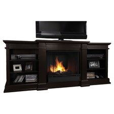 "<strong>Real Flame</strong> Fresno 72"" TV Stand with Gel Fuel Fireplace"