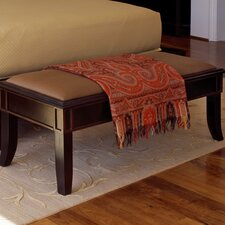 <strong>Brownstone Furniture</strong> Metropolitan Fabric Bedroom Bench
