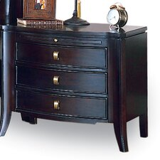 Lisbon 3 Drawer Nightstand