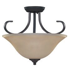 Carter 3 Light Semi-Flush Mount