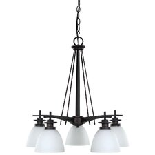 New Yorker 5 Light Chandelier