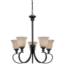 Carter 5 Light Chandelier