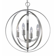 <strong>Canarm</strong> Meridian 4 Light Chandelier