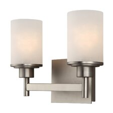 <strong>Canarm</strong> Lyndi 2 Light Bath Vanity Light