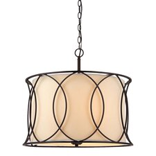 <strong>Canarm</strong> Monica 3 Light Chandelier