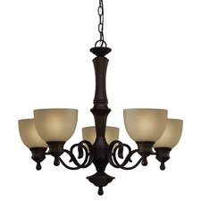 Delaney 5 Light Chandelier