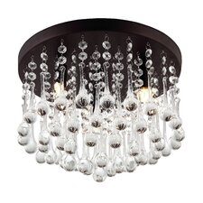Daya 3 Light Flush Mount