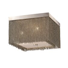 Jett 3 Light Flush Mount