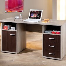 Corso Writting Desk with 3 Drawers