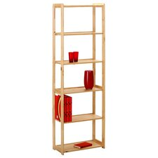 Gina 6 Shelf Bookcase