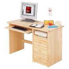 Computer Desk with Keyboard Tray
