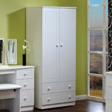 Warwick 2 Drawer Wardrobe