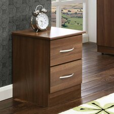 Avon 2 Drawer Bedside Table