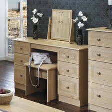 Corrib Kneehole Dressing Table Set