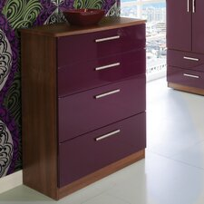 Knightsbridge 4 Drawer Deep Chest