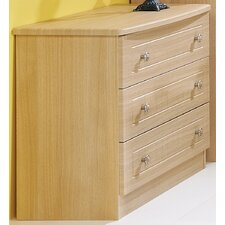 Warwick 3 Drawer Chest