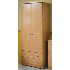 Warwick Tall Wardrobe with 2 Drawers