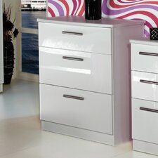 Knightsbridge 3 Drawer Chest