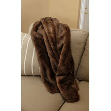 Crockett Faux Fur Throw