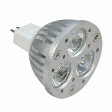 KolourOne LED GU5.3 / GU10 MR16 Lamp in Silver