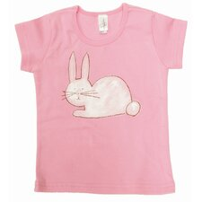 <strong>Alex Marshall Studios</strong> Bunny Cap Sleeve T Shirt in Pink