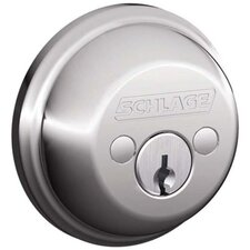 Bright Chrome Double Cylinder Deadbolt