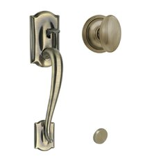 Siena Camelot Handle Set with Dummy Style Interior Knob