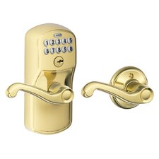 Plymouth by Flair Keypad Lever with Auto Lock