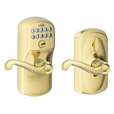 <strong>Schlage</strong> Plymouth by Flair Keypad Lever with Flex Lock