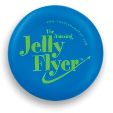 <strong>Noodle Head</strong> Jelly Flyer Glow in the Dark Frisbee Game
