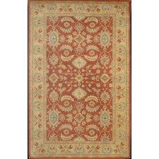 Windsor Regal Persian Red/Tan Area Rug