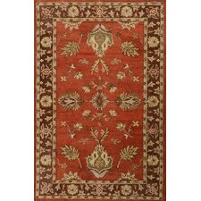 <strong>MevaRugs</strong> Cairo Red/Brown Rug