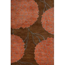 <strong>MevaRugs</strong> Flora Brown Rug