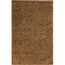 Royal Shag Gold/Black Rug
