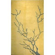 Dendro Gold Rug