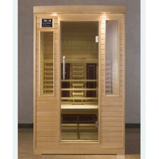 Hemlock Two-Person Infrared Sauna Room