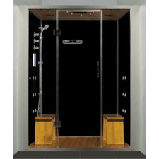 <strong>Steam Planet Corp</strong> Royal Care Pivot Door Steam Sauna Shower