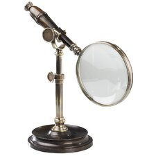<strong>Authentic Models</strong> Magnifying Glass with Stand in Bronzed
