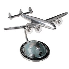 <strong>Authentic Models</strong> Autour Du Monde Miniature Airplane Sculpture