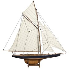 1901 Small America's Cup Columbia Model Boat
