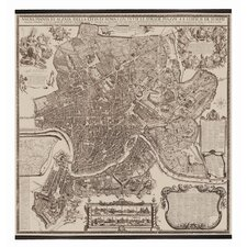 Rome Map - 1676
