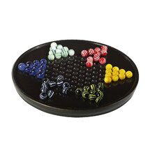 Chinese Checkers in Black