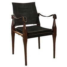 <strong>Authentic Models</strong> Rhoorkie Leather Arm Chair