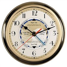 """Time and Weather 7"""" Tide Wall Clock"""