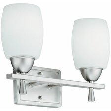 <strong>Lithonia Lighting</strong> Ferros 2 Light Vanity Light