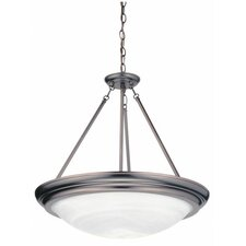 <strong>Lithonia Lighting</strong> Sheffield 3 Light Inverted Pendant