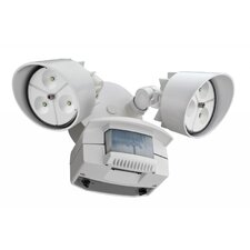 2 Head LED Floodlight with Light Motion Sensor
