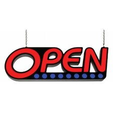 Utility LED Open Sign