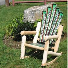 Snow Rocking Chair