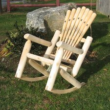 Base Ball Bat Rocking Chair
